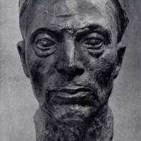А.Т. Матвеев. Автопортрет. Бронза. 1939 г. Ленинград, Русский музей