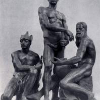 А.Т. Матвеев. Октябрь. Гипс. 1927 г. Ленинград, Русский музей