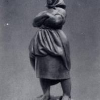 В.И. Мухина. Крестьянка. Бронза. 1927 г. Москва, Третьяковская галерея