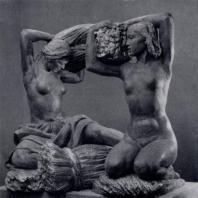 В.И. Мухина. Хлеб. Гипс. 1939 г. Москва, Третьяковская галерея
