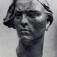 В.И. Мухина. Партизанка. Гипс. 1942 г. Москва, Третьяковская галерея