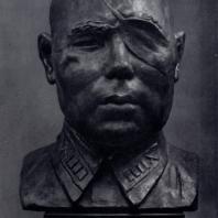 В.И. Мухина. Портрет полковника Б.А. Юсупова. Гипс. 1942 г. Москва, Третьяковская галерея