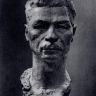 С.Д. Лебедева. Портрет П.П. Постышева. Гипс. 1935 г. Москва, Третьяковская галерея