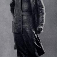 М.Г. Манизер. Зоя Космодемьянская. Бронза. 1942 г. Москва, Третьяковская галерея
