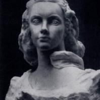 С.Т. Коненков. Марфинька. Мрамор. 1950 г. Ленинград, Русский музей
