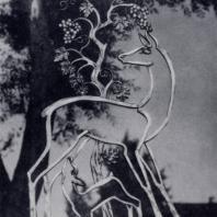 И.С. Ефимов. Лань. Декоративная скульптура в Цхалтубо. Бронза. 1950 г.