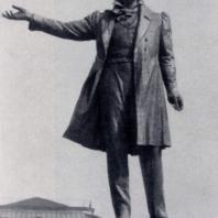 М.К. Аникушин. Памятник А.С. Пушкину в Ленинграде. Бронза. 1957 г.