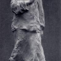 Е.Ф. Белашова-Алексеева. Непокоренная. Гипс. 1943 г. Москва, Третьяковская галерея