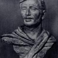А.М. Сарксян. Сурен Спандарян. Бронза, 1947 г. Москва, Третьяковская галерея