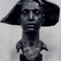Г.Г. Чубарян. Портрет металлурга Авганяна. Бронза. 1954 г. Ереван, Картинная галерея Армении