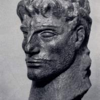 Э.Д. Амашукели. Вахтанг Горгасал. Бронза. 1958 г. Тбилиси, Музей искусств Грузинской ССР