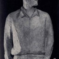 Ю.В. Александров. Геолог Н. Дойников. Бронза. 1961 г. Москва, Третьяковская галерея