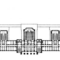 Московский Государственный Университет им. Ломоносова. Корпус химического факультета. План 2-го этажа