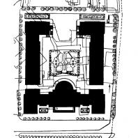 Административное здание у Красных ворот. Генеральный план