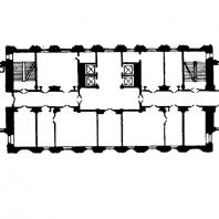 Административное здание у Красных ворот. План типового этажа