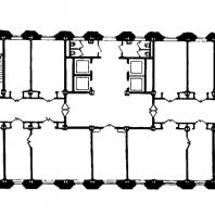 Административное здание у Красных ворот. План 10-12-го этажей