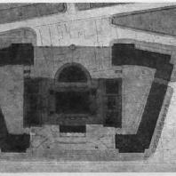 Административное здание на Смоленской площади. Генеральный план