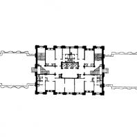 Жилой дом на площади Восстания. План 15-го этажа