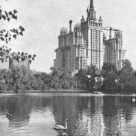 Перспектива высотного здания на площади Восстания со стороны зоопарка