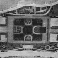 Административное здание в Зарядье. Генеральный план