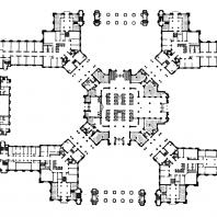 Административное здание в Зарядье. План 3-го этажа
