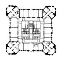 Административное здание в Зарядье. План 21—32-го этажей
