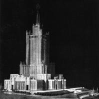 Модель здания в Зарядье