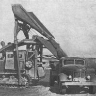 Механизированная погрузка грунта