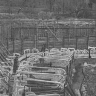Замораживание грунта для производства земляных работ