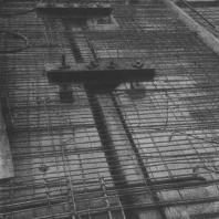 Междуэтажное перекрытое, подготовленное к бетонированию