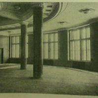 Дом СНК СССР в Москве. Круглый зал на 2-м этаже