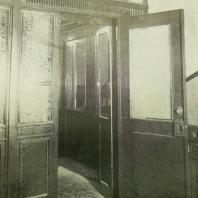 Дом СНК СССР в Москве. Деталь лифта