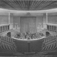 Москва. Концертный зал имени Чайковского. Зрительный зал
