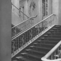 Москва. Концертный зал имени Чайковского. Фрагмент лестницы