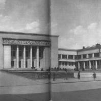 Москва. Клуб издательства «Правда». Н.Д. Молоков, Н.М. Чекотаев. 1937
