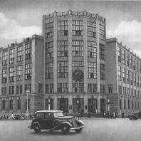 Москва. Здание Центрального Телеграфа. И.И. Рерберг. 1927