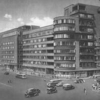Москва. Здание министерства на Большой Садовой. Академик А.В. Щусев. 1933