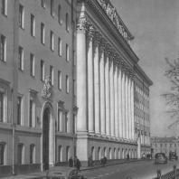 Москва. Здание министерства на улице Фрунзе. М.В. Посохин, А.А. Мндоянц