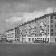 Москва. Большая Калужская улица. Жилой дом. Д.Н. Чечулин. 1940