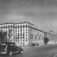 Москва. Большая Калужская улица. Реконструирована в 1940 году