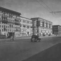 Москва. Можайское шоссе. Жилой дом. З.М. Розенфельд. 1946