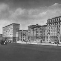 Москва. Можайское шоссе. Жилой дом. И.З. Вайнштейн, В.М. Муравьев. 1935