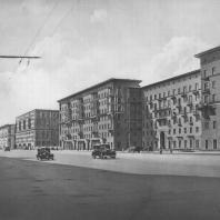 Москва. Можайское шоссе. Жилой дом. З.М. Розенфельд. 1941—1946