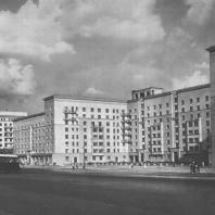 Москва. Можайское шоссе. Жилой дом. Т.М. Кузьменко, А.Г. Лихтенберг. 1938