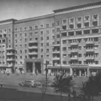 Москва. Шоссе Энтузиастов. Жилой дом. В.Б. Орлов. 1938