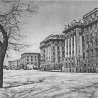 Москва. Ленинградское шоссе. Жилой дом. Г.В. Ефимович. 1937