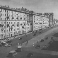 Москва. Большая Садовая улица. Жилые дома. А.Я. Изаксон, А.К. Ростковский. 1941