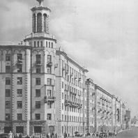 Москва. Большая Полянка. Жилой дом. А.Г. Мордвинов. 1939