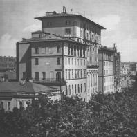 Москва. Никитский бульвар. Жилой дом. Е.Л. Иохелес. 1937