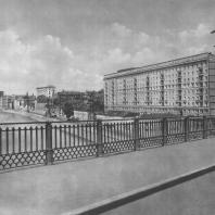 Москва. Гончарная набережная. Жилой дом. Г.Г. Козлов. 1940